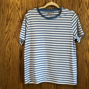 ASOS blue and white short sleeve t-shirt. Size 14
